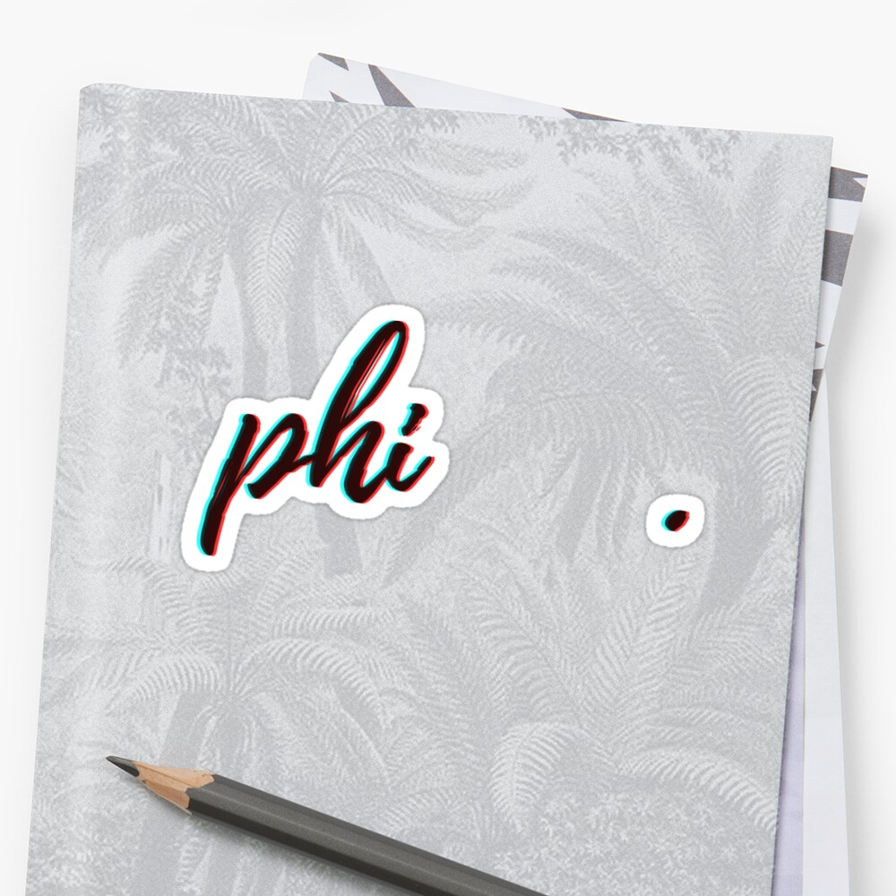retro 3D (size adjusted!) - phi by arielledesigns