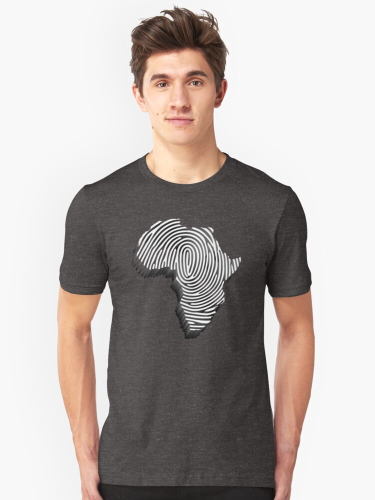 Africa Is My DNA 3D  Unisex T-Shirt Front