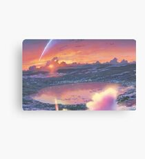 Anime Scenery (Kimi no na wa) Canvas Print
