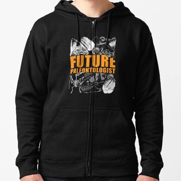 Paleontology tshirt - Future paleontologist gift idea Zipped Hoodie