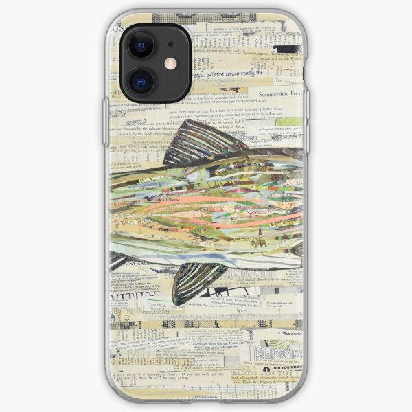 Rainbow Trout Collage by C.E. White  iPhone Soft Case