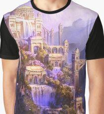 Fantasy castle Graphic T-Shirt