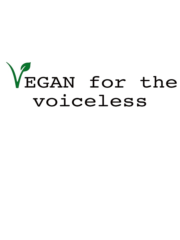 vegan for the voiceless by Zoe Hoffmann