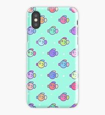Bubbly Fishes iPhone Case