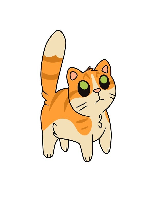 Ordinary Orange Tabby Cat by LittleGentleman