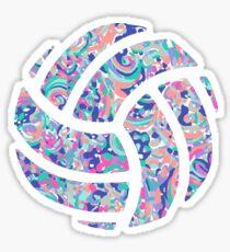 Volleyball Lilly Sticker
