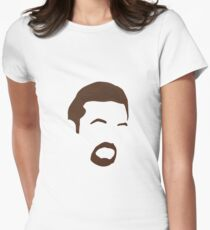 The Office   David Brent   Ricky Gervais Women's Fitted T-Shirt