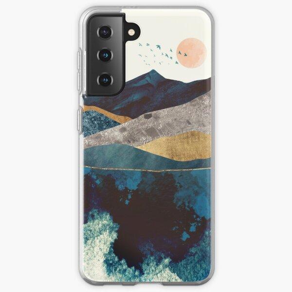 Blue Mountain Reflection Samsung Galaxy Soft Case