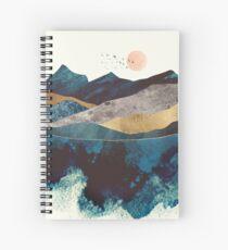 Blue Mountain Reflection Spiral Notebook