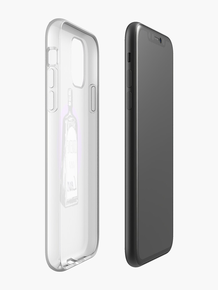 Coque iPhone « Violet », par qlmao