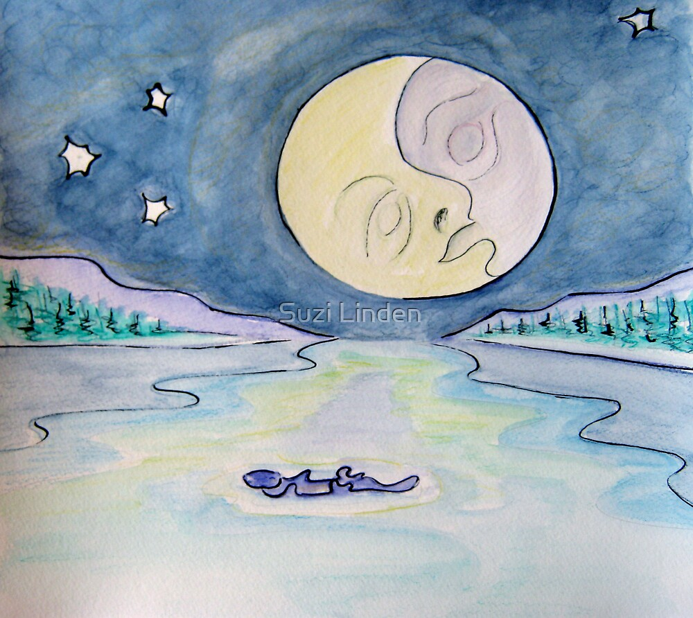 Otter and the Moon by Suzi Linden