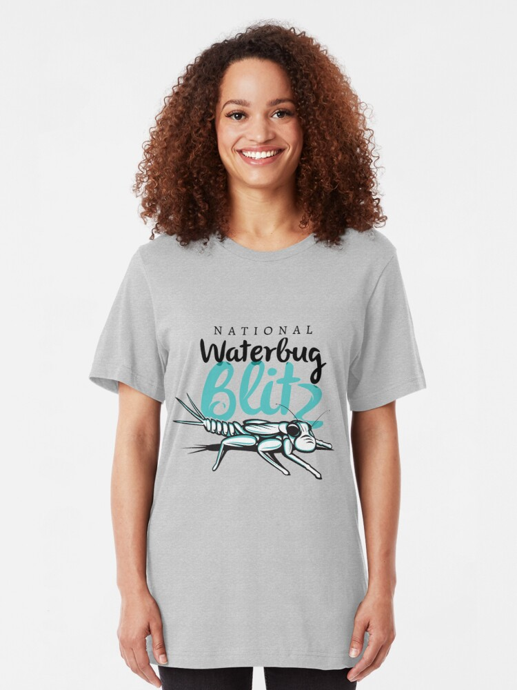 Alternate view of The National Waterbug Blitz Slim Fit T-Shirt