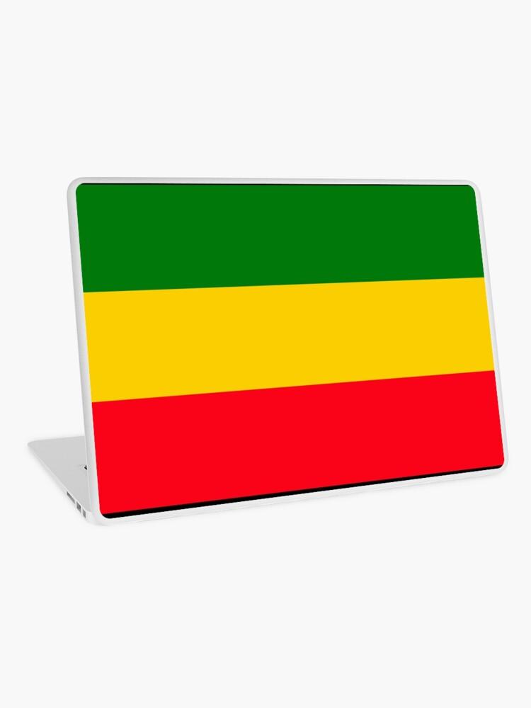 bandera verde amarillo y rojo de que pais es