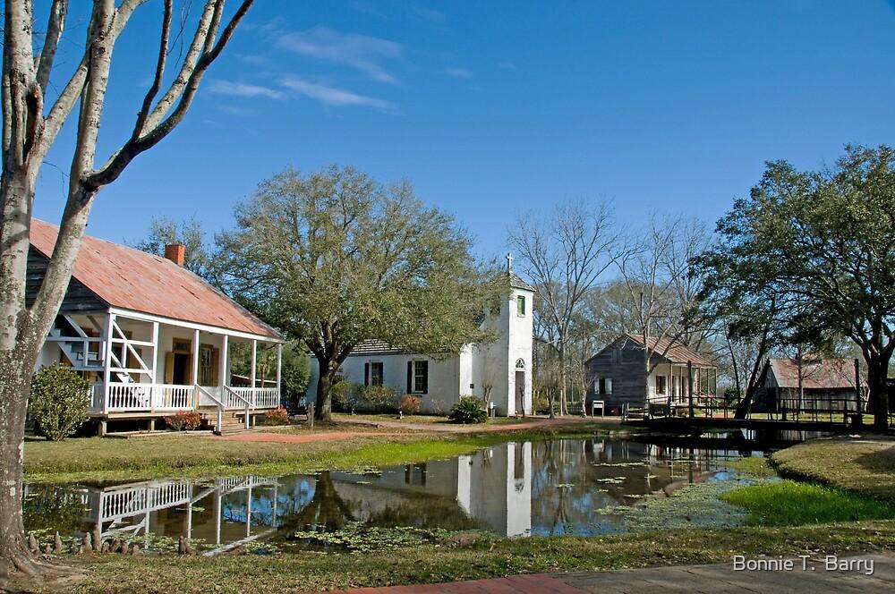 Peaceful Village by Bonnie T.  Barry