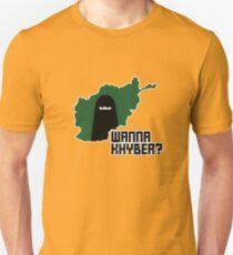 Wanna Khyber? Unisex T-Shirt