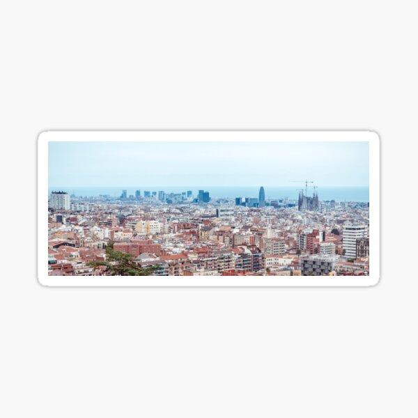 Barcelona cityline Sticker
