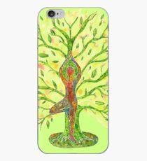 Yoga - Tree Pose iPhone Case