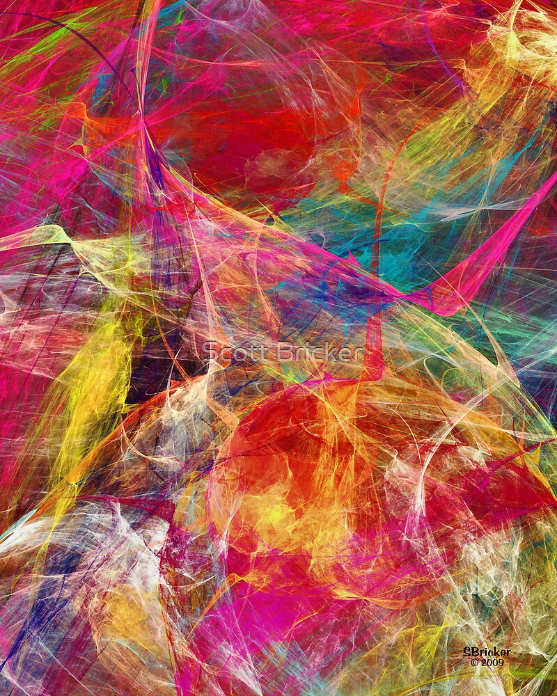 'Simple Abstract 015' by Scott Bricker