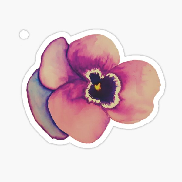 Don't You Just Love Violets? Sticker