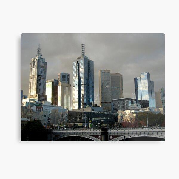 Melbourne Metal Print