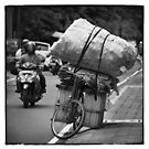 Bali_2018 ... Loaded and ready for the road . by Malcolm Heberle