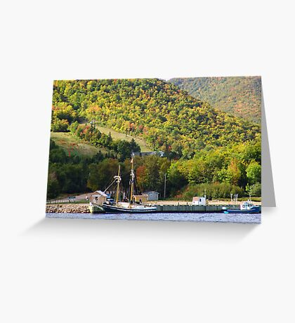 Quiet Anchorage Greeting Card