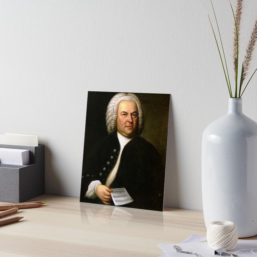 Johann Sebastian Bach by jimmywatt