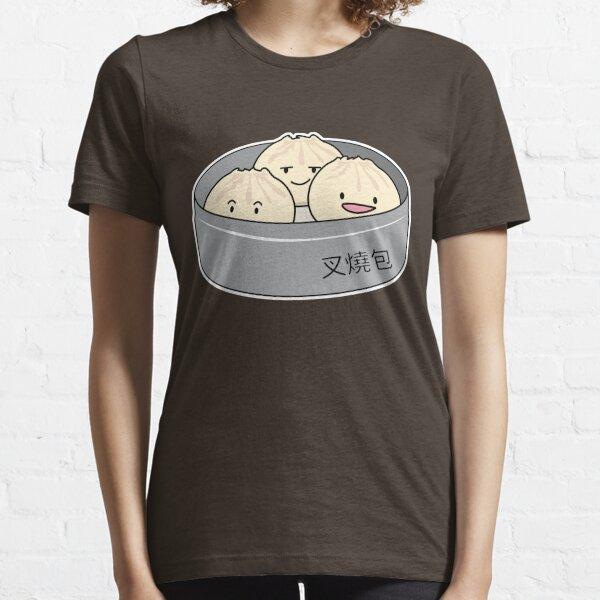 Pork Bun dim sum Chinese breakfast steamed bbq bun Essential T-Shirt