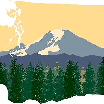 Mount Rainier by danielcampagna