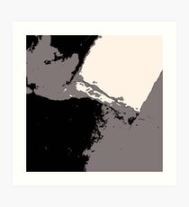 Organic No.15 Abstract #muted #redbubble #artprints #fineart #decor Art Print