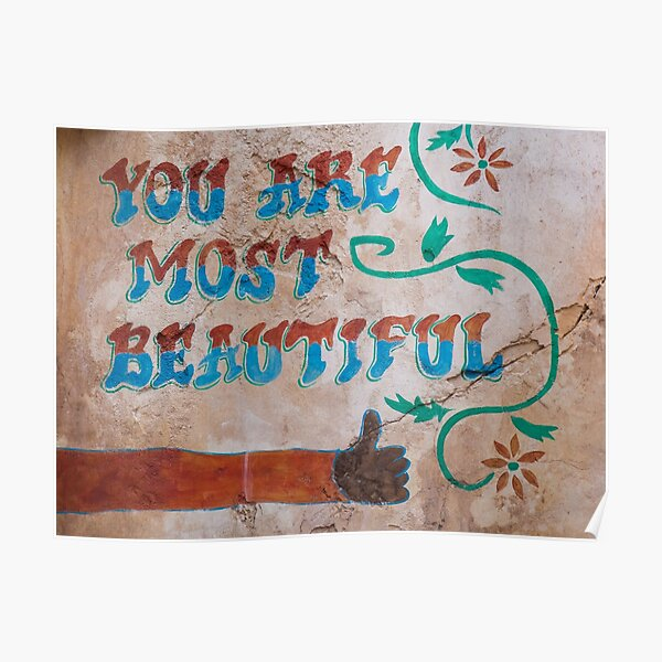 You Are Most Beautiful Poster