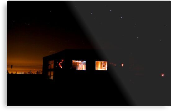 Big Dipper over the Margo Gelb Dune Shack (Provincetown, Cape Cod) by Christopher Seufert