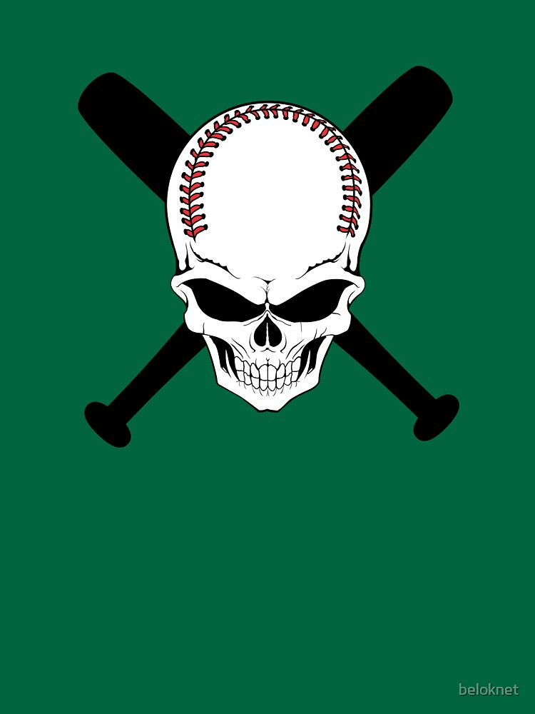 Baseball Jolly Roger by beloknet
