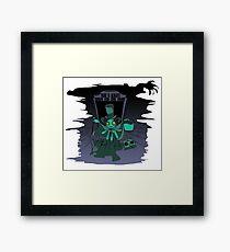 Grayson - Hatbox Squid Framed Print