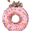 Crab with Doughnut by yellowmelle