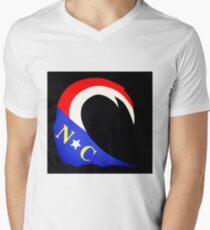 The NC Wave Men's V-Neck T-Shirt