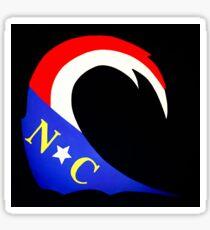 The NC Wave Sticker