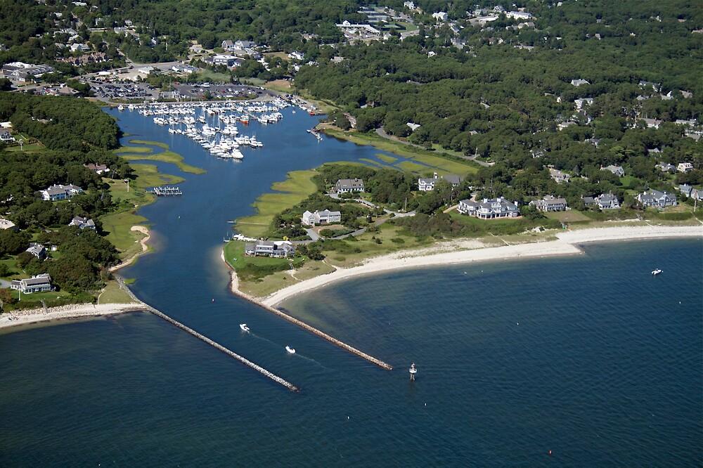Saquatucket Harbor Aerial Photo (Harwich, Cape Cod) by Christopher Seufert