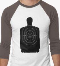 Target Practice Men's Baseball ¾ T-Shirt