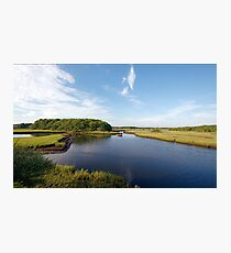 Herring River (Harwich, Cape Cod) Photographic Print