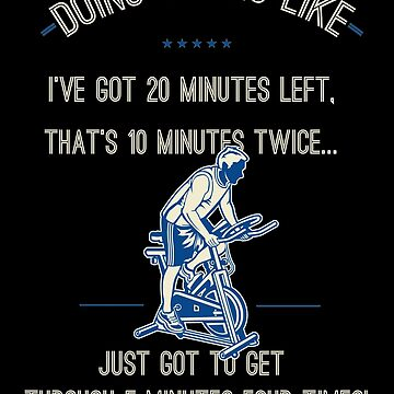 """Doing Cardio: """"Only 20 minutes left. That's just 10 minutes twice. Only 5 minutes 4 times!"""" by Fitanddutch"""