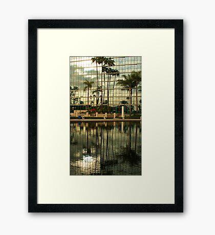 California Reflections Framed Print