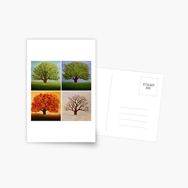 Seasons Postcard