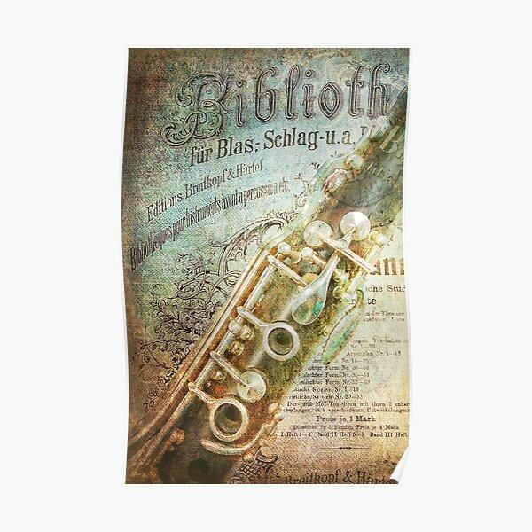 Clarinet Dreams Poster