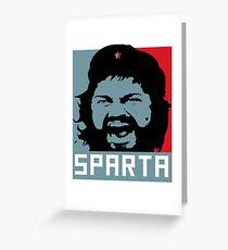 Che Sparta Greeting Card