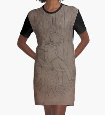 Trees Graphic T-Shirt Dress