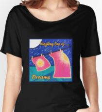 Washing line of Dreams. Women's Relaxed Fit T-Shirt