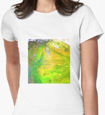 Algae ,Flying Fox Creek  Women's Fitted T-Shirt