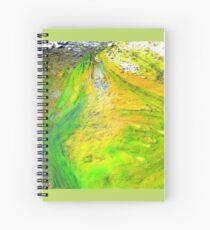 Algae ,Flying Fox Creek  Spiral Notebook
