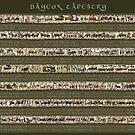 Bayeux Tapestry-Volle Szenen mit Geschichte von KATIUSKA